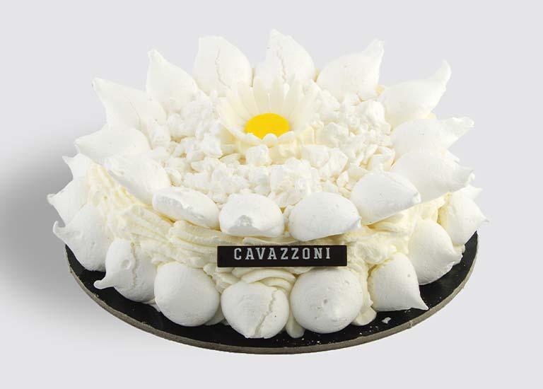 Torta Meringata con Pan di Spagna - Pasticceria Cavazzoni Fano