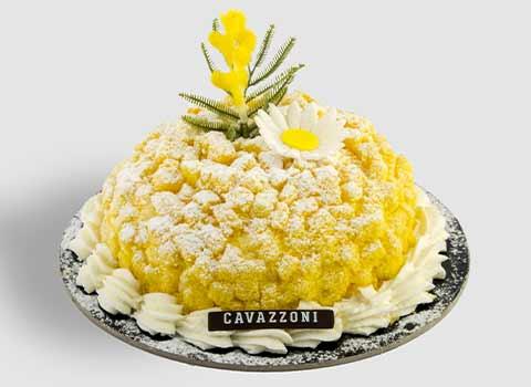 Torta Mimosa - Pasticceria Cavazzoni Fano