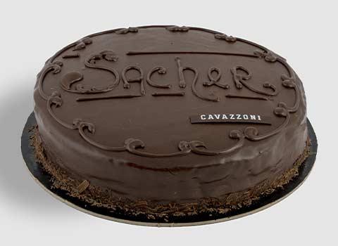Torta Sacher - Pasticceria Cavazzoni Fano
