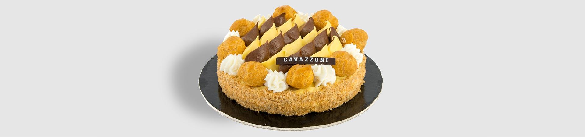 Torta Saint Honorè - Pasticceria Cavazzoni Fano