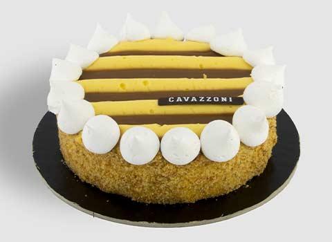 Torta Caramello e Chantilly - Pasticceria Cavazzoni Fano