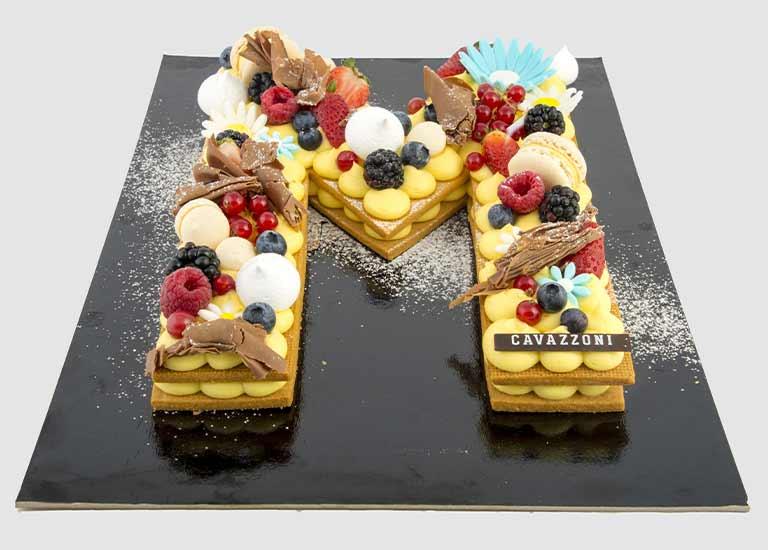 Torta Creme Tart con Frolla - Pasticceria Cavazzoni Fano