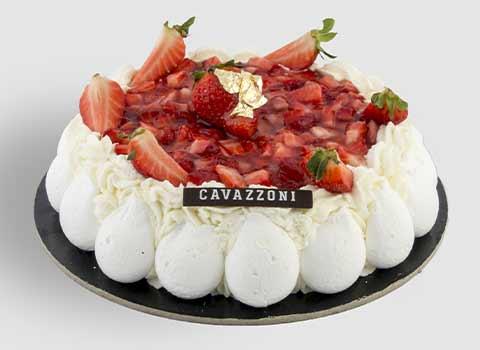Torta Fragolosa - Pasticceria Cavazzoni Fano