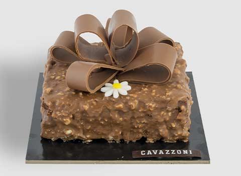 Torta Rocher - Pasticceria Cavazzoni Fano
