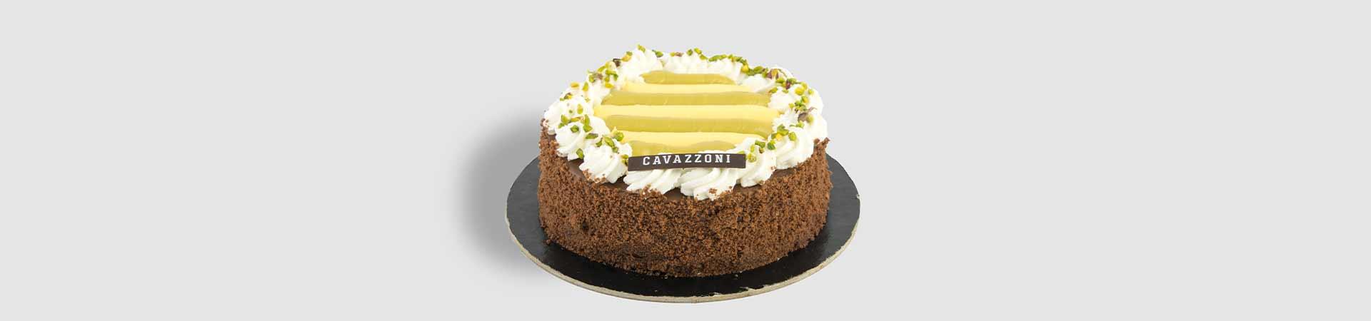 Torta Pistacchia - Pasticceria Cavazzoni Fano
